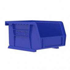 Akrobin 30210 Stackable Storage Bin 5-3/8 x 4-1/8 x3 Blue