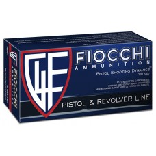 Fiocchi Pistol Shooting Dynamics 380 ACP 95 Grain FMJ Box of 50