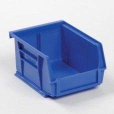 Global Stackable Storage Bin 5-3/8 x 4-1/8 x 3 Blue