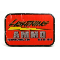 Lightning Ammo .22 Cal., .224 Diam., 55 gr FMJ-BT with Cannelure