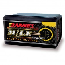 Barnes M/LE TAC-RRLP .22 Caliber .224 Diameter Flat Base Frangible Bullets box of 100