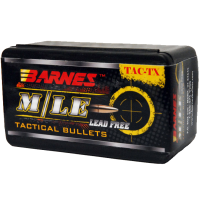 Barnes TAC-TX bullets .30 Caliber .308 Diameter 110 Grain Tipped Flat Base (50ct)