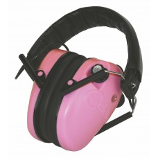 Caldwell E-Max Low Profile Electronic Hearing Protection - Pink
