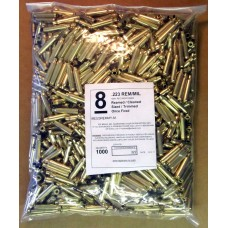 Top Brass .223 Remington Brass Unprimed 1000 pieces Bulk Package