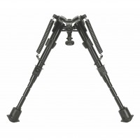 "Caldwell XLA 6-9"" Bipod - Fixed Model, Black"