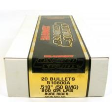 Barnes .50 BMG .510 800 Grain Spitzer Boat Tail Bullets