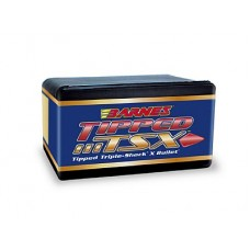 BARNES Triple Shock X (TSX) Bullets 6.5mm .264 Diameter 120 Grain Hollow Point Flat Base Box of 50