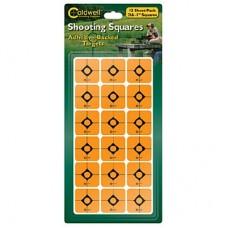 Caldwell 1 Orange Shooting Squares, 12 sheets (216 ct)