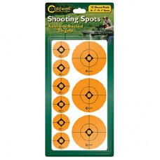 Caldwell 1 & 2  Orange Shooting Spots, 12 sheets (72-1, 36-2)