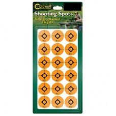 Caldwell 1 Orange Shooting Spots, 12 sheets (216 ct)