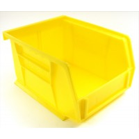 Akrobin 30210 Stackable Storage Bin 5-3/8 x 4-1/8 x3 Yellow