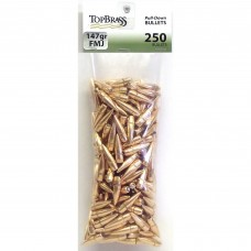 .308 147 Gr Full Metal Jacket Pull Down Bullets 250 pieces