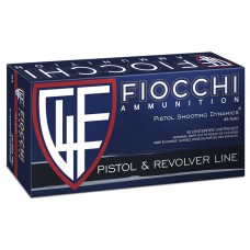 Fiocchi Pistol Shooting Dynamics 45 ACP 230 Grain FMJ Box of 50