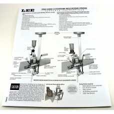 Lee Precision Instructions Turret Press Post 2018
