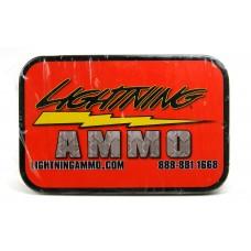 Lightning Ammo .22 Cal., .224 Diam., 55 gr FMJ-BT with Cannelure