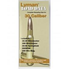 Lyman Load Data Book 30 Caliber