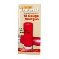 Lyman Load Data Book 12 Gauge Shotgun