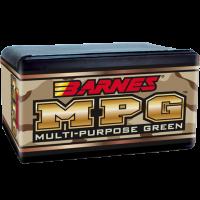 Barnes MPG .22 Caliber .224 Diameter 55 Grain Hollow Point Flat Base Frangible bullets box of 100