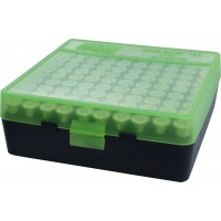 MTM Case-Gard Hinge Top Ammo Box 100 Rounds 41 Mag, 44 Mag, 45 LC