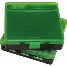MTM Case-Gard Hinge Top Ammo Box 100 Rounds 45 ACP, 40 S&W, S57 SIG