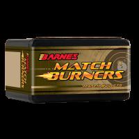 Barnes Match Burner Bullets .243 Caliber, 6mm 105 Grain Hollow Point Boat Tail