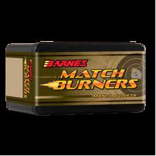 .30 Caliber .308 175 Grain Boat Tail Barnes Match Burner Bullets box of 100