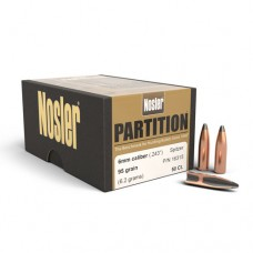 Nosler Partition Bullet 243 Caliber 6mm 95 Grain Box of 50