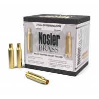 Nosler 7mm-08 Remington Brass box of 50