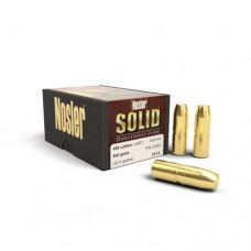 Nosler Solid .458 Caliber 500 Grains Flat Nose Box of 25