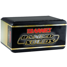 "Barnes Banded Solid Bullets .50 BMG .510"" Diameter 750 Grain Spitzer Boat Tail box of 20"