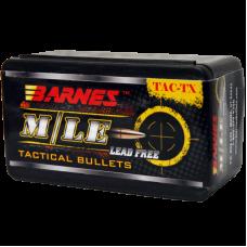 .300 AAC Blackout / .300 Whisper 110 Grain Polymer Tip Flat Base Barnes TAC-TX Bullets box of 50