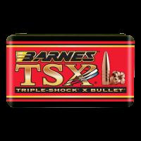 "Barnes Triple-Shock X Bullets .22 Caliber .224"" Diameter 53 Grain Hollow Point Flat Base Barnes Triple-Shock X Bullets box of 50"