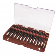 Tipton 13 Piece Nylon Bristle Rifle Bore Brush Set