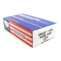 Ultramax Ammunition .380 ACP 115 Grain Lead Round Nose