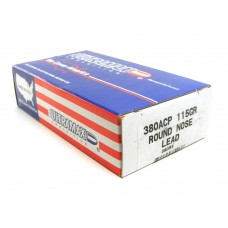 Ultramax Ammunition .380 ACP 115 Grain Lead Round Nose