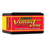 Barnes VARMIN-A-TOR Bullets .20 Caliber .204 Diameter. 32 Grains Hollow Point Box of 100