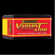 .243 Caliber, 6mm 58 Grain Hollow Point Flat Base Barnes Varmin-A-Tor Bullets box 0f 100