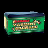 Barnes Varmint Grenade Bullets .243 Caliber, 6mm 62 Grain Hollow Point Flat Base box of 100