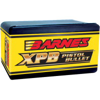 "Barnes XPB Bullets .44 Magnum .429"" Diameter 200 Grain Hollow Point Flat Base box of 20"