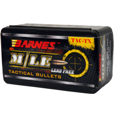 "Barnes TAC-TX Bullets .30 Caliber .308"" Diameter 168 Grain Boat Tail (50ct)"