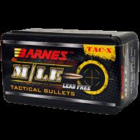 "Barnes TAC-X .22 Caliber .224"" 62 Grain Hollow Point Boat Tail Bullets box of 50"