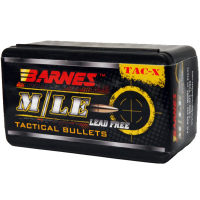 "Barnes TAC-X Bullets .30 Caliber .308"" 168 Grain Boat Tail box of 50"