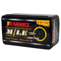 "Barnes TAC-XP Bullets .45 ACP .451"" Diameter 185 Grain Hollow Point Flat Base box of 40"