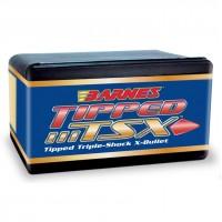 "Barnes Tipped Triple-Shock X Bullets .270 Caliber .277"" Diameter 130 Grain Spitzer Boat Tail box of 50"