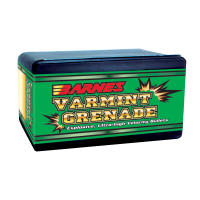 Barnes Varmint Grenade Bullets .243 Caliber, 6mm 62 Grain Hollow Point Flat Base box of 250