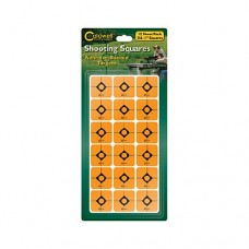 Caldwell 1 Orange Shooting Squares, 12 sheets (216 ct)