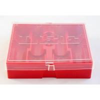 Lee Precision 4-Die Box Flat Red