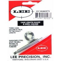 Lee Precision Case Length Gauge & Shell Holder .257 Roberts