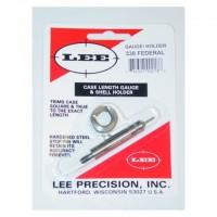 Lee Precision Case Length Gauge & Shell Holder .338 Federal