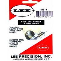 Lee Precision Case Length Gauge & Shell Holder .40 Smith & Wesson
